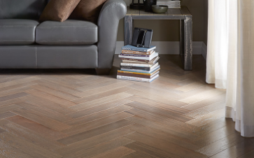 Lauretian Engineered Hardwood - Herringbone Collection