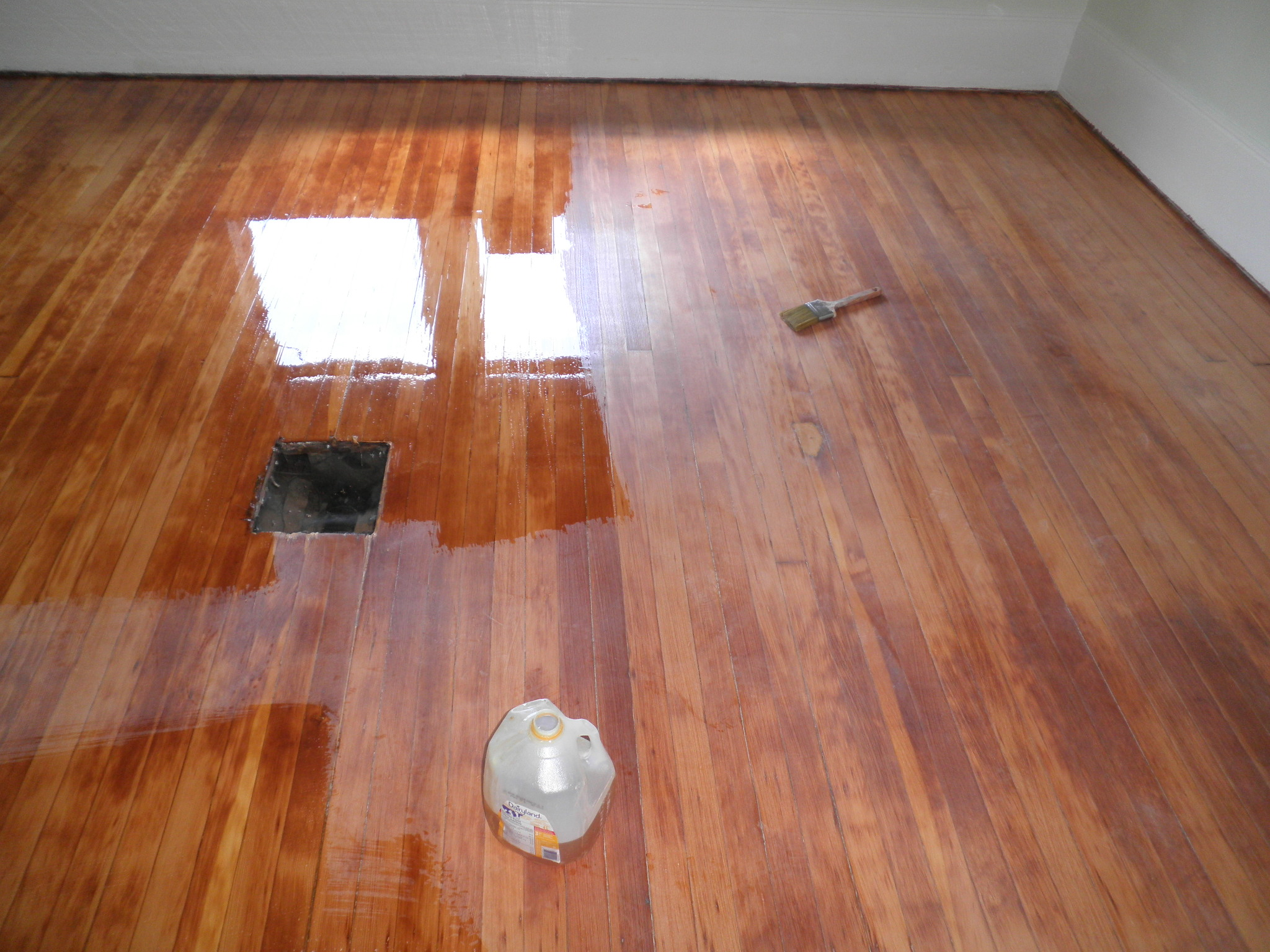Engineered hardwood how to refinish engineered hardwood for Resurfacing wood floors