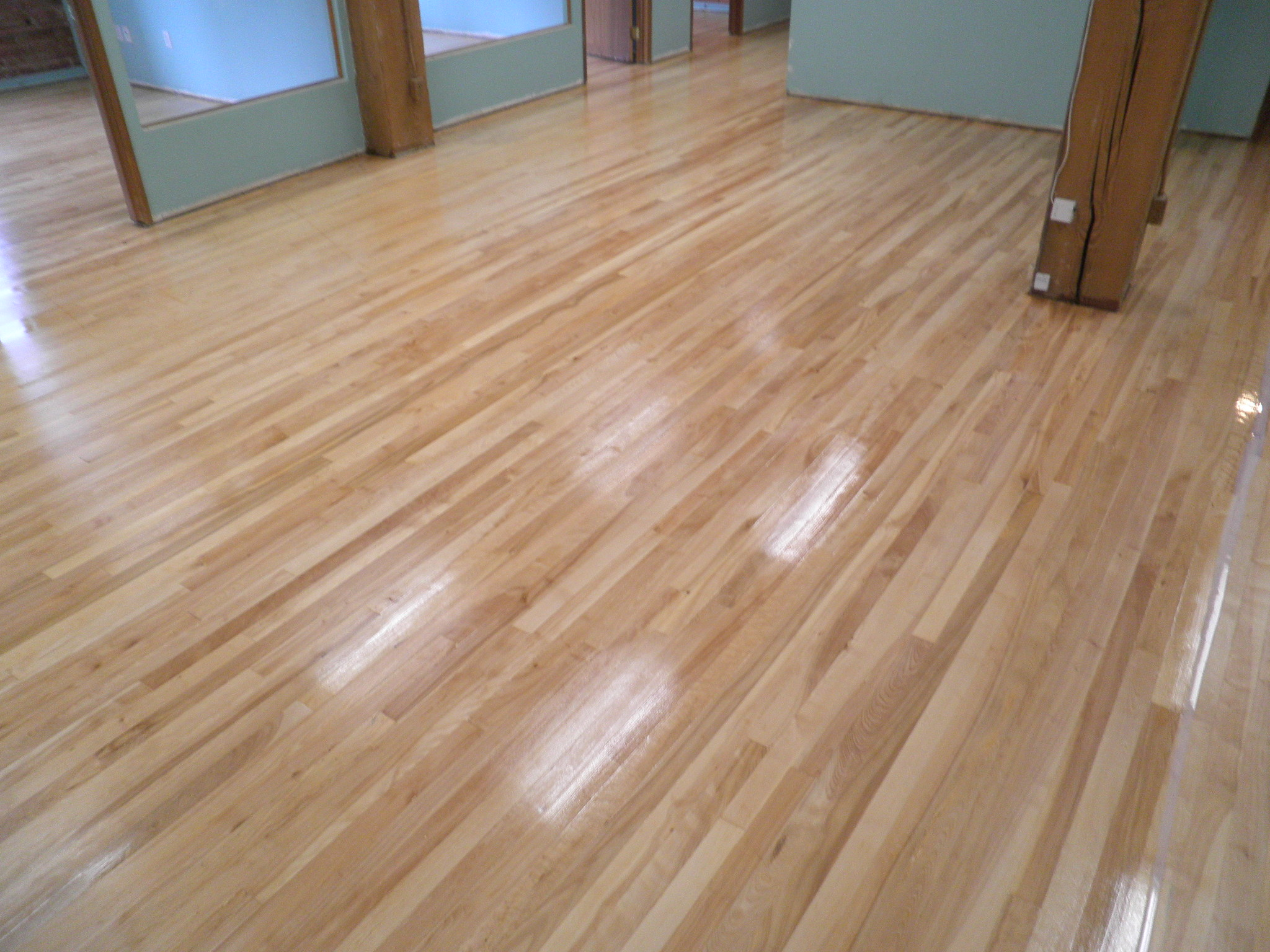 Refinishing wood floors excellent refinishing hardwood for Wood floor refinishing