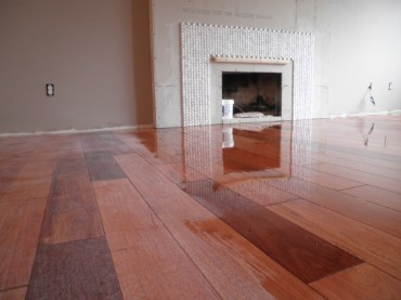 sanding and finishinf flooring