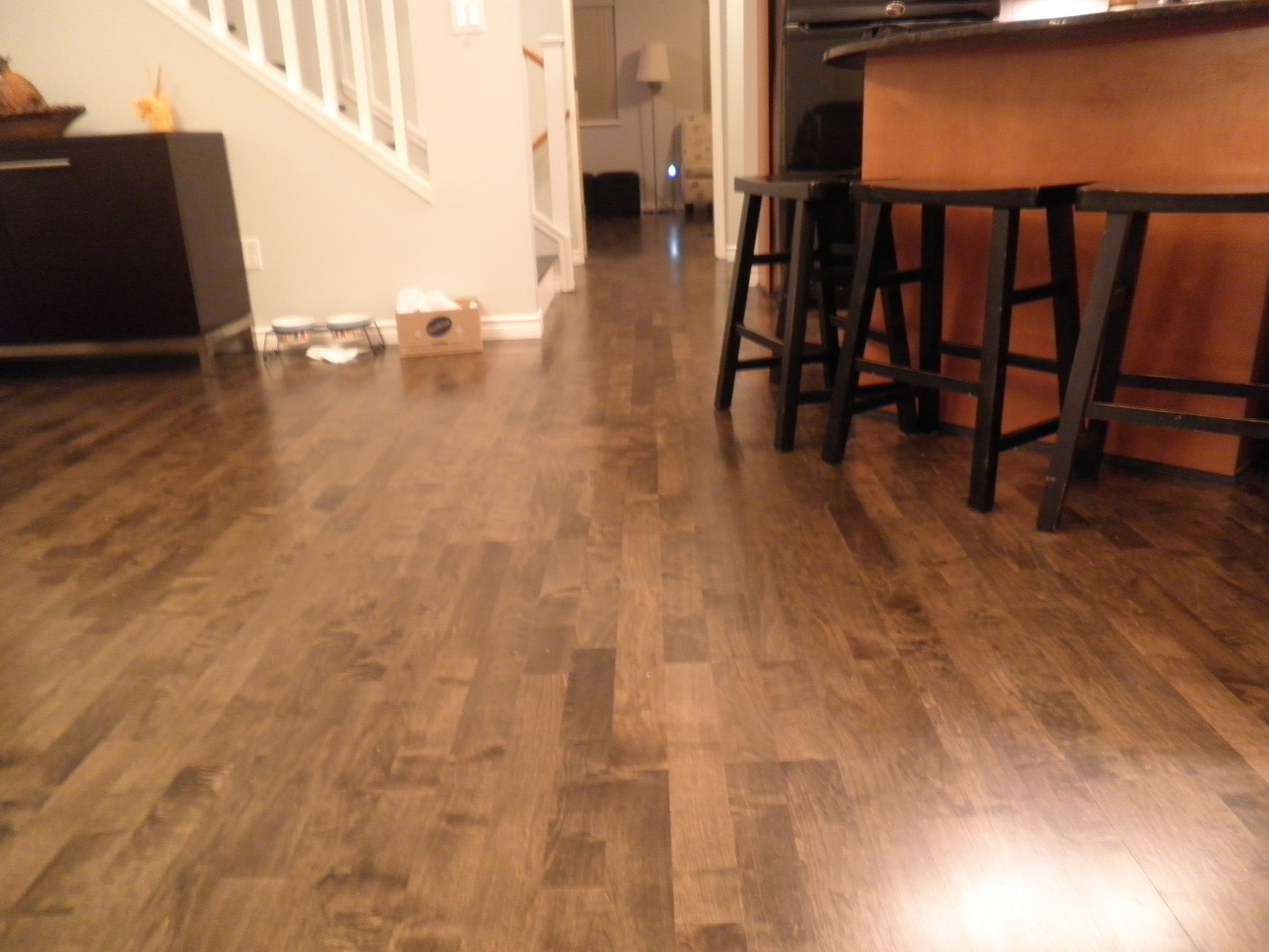 Engineered flooring new westminster laminate flooring for Hardwood installation